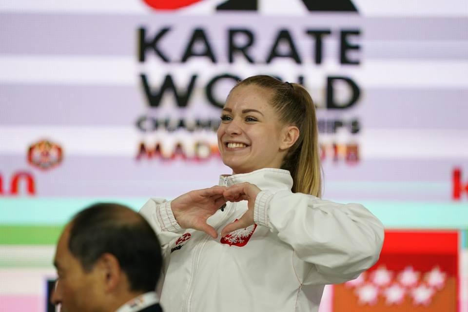 Dorota Banaszczyk Aktualna Mistrzyni świata W Karate Olimpijskim Wkf (kumite 55 Kg)